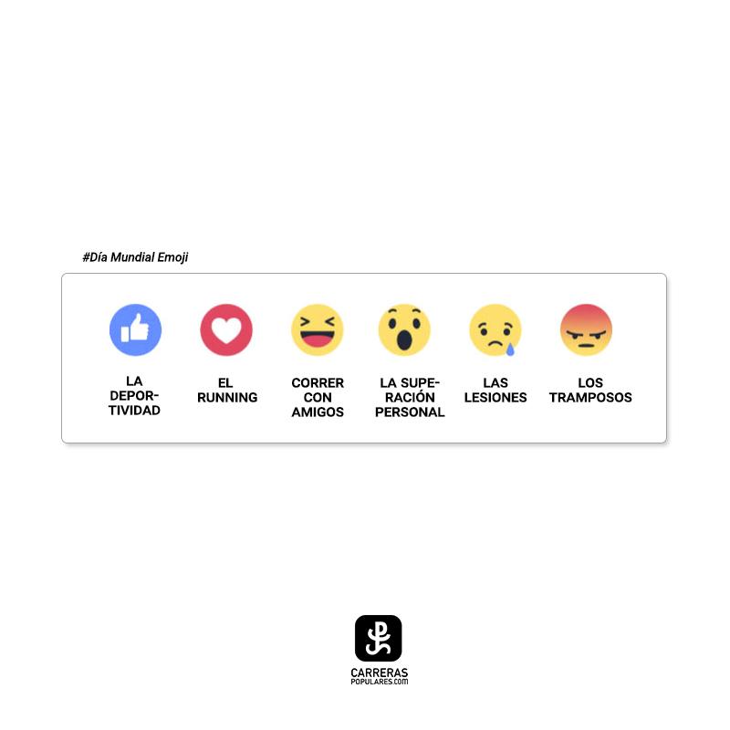 ¿Cuál es el emoji más usado en tu grupo de runners?