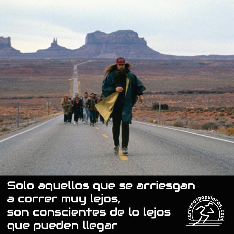 Solo aquellos que se arriesgan a correr muy lejos, son conscientes de lo lejos que pueden llegar.