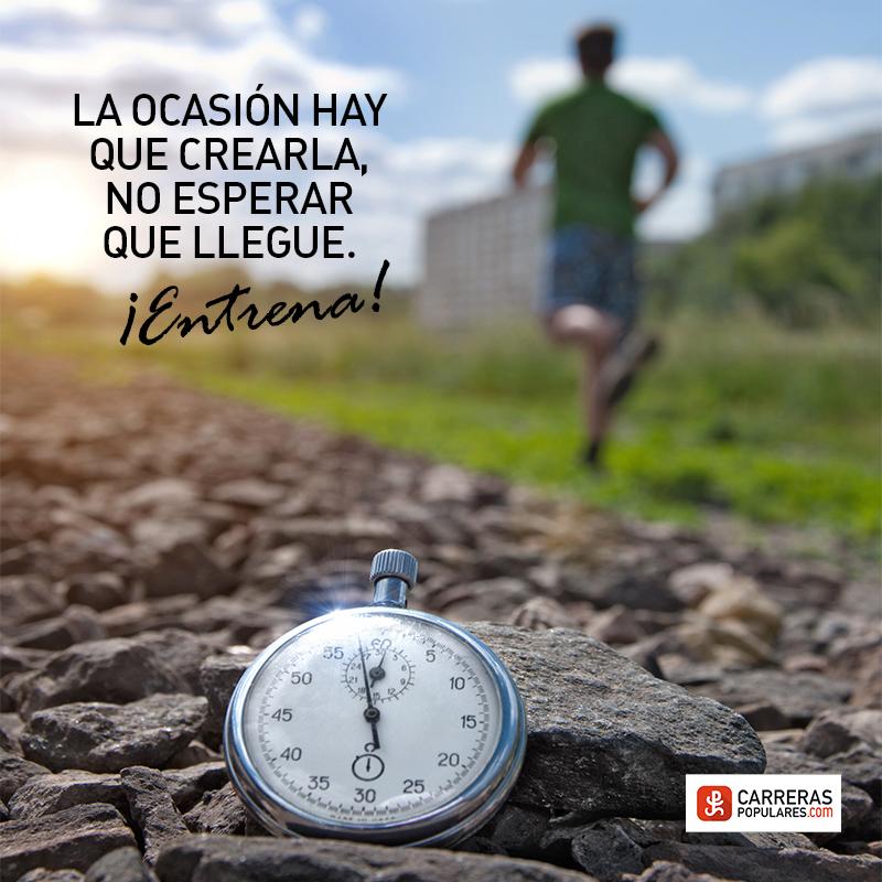 La ocasión hay que crearla, no esperar que llegue