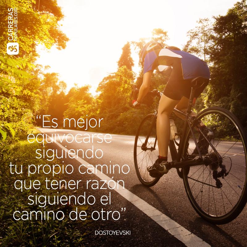 Es mejor equivocarse siguiendo tu propio camino que tener razón siguiendo el camino de otro