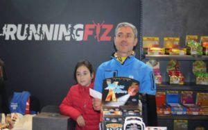Martín Fiz en su tienda de Vitoria, Running Fiz