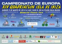 Cartel del Quadriatlon Isla de Ibiza