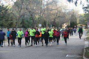 Las quedadas de corredores solidarios son una motivación extra