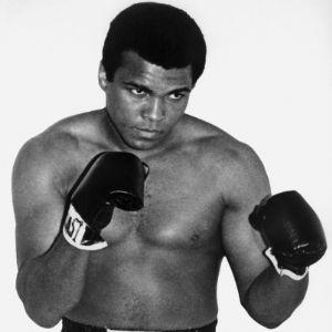 El campeón del mundo de boxeo, Ali