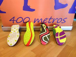 Suelas de la zapatillas analizadas