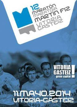Cartel del Maratón Martín Fiz de Vitoria-Gasteiz 2014