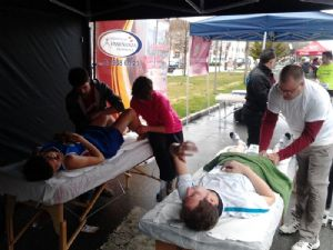 El masaje trae beneficios al corredor popular