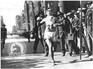 Imagen de la edición de 1920 del Maratón de Boston