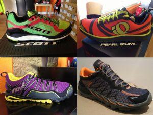 Las cuatro zapatillas de Urban Trail analizadas en la comparativa