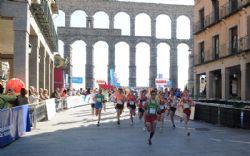 El acueducto de Segovia es testigo de la salida y la meta de la carrera