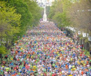 Imagen de la Maratón de Madrid 2013