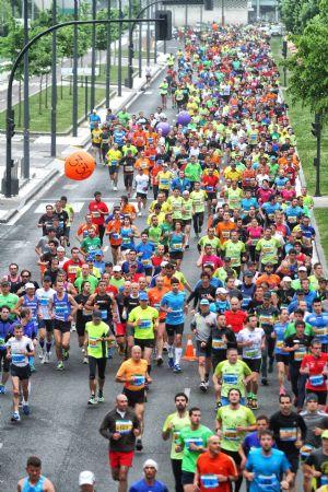 Un momento de la Maratón de Vitoria del pasado domingo 11 de mayo de 2014