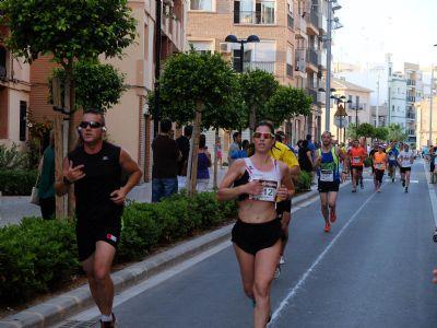 Un momento de la Carrera de Alboraya contra el Cáncer 2013