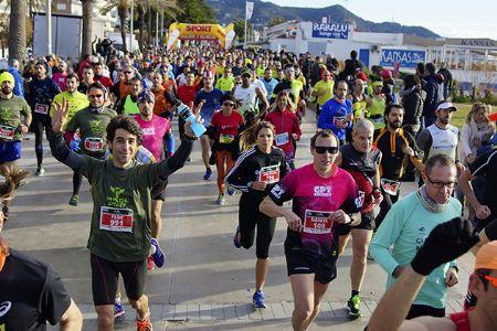 La mayoría de los corredores populares acaban apuntandose a alguna carrera