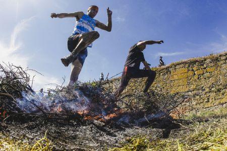 Uno de los obstáculos que hay que superar en la Farinato Race