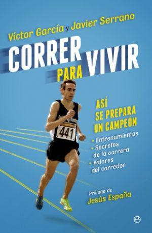 Portada del libro Correr para Vivir