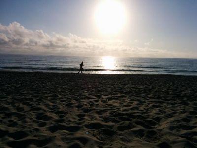 Correr puede crear un estado de meditaci�n y alejar el estr�s