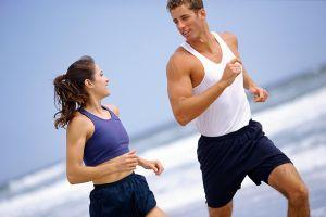 El ejercicio físico resulta perfecto para bajar kilos