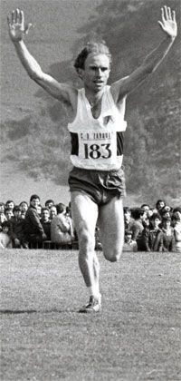 Antonio Prieto, El Taca, en uno de los momentos álgidos de su carrera deportiva