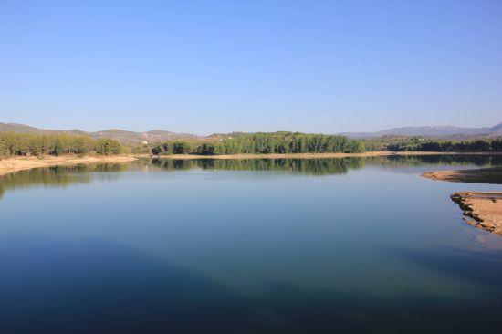 La ruta descrita por Paco Noguera pasa por el Pantano del Regajo