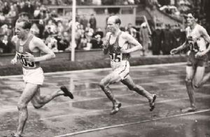 El estilo de Zatopek corriendo era poco ortodoxo
