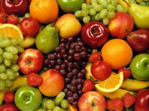 Las frutas son una fuente de azúcar