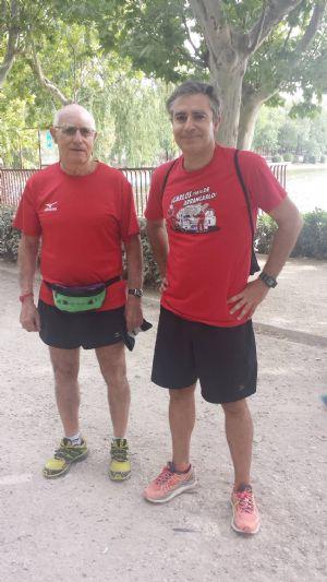 Paco y Carlos Cisneros, organizadores de la Carrera de la Ciencia