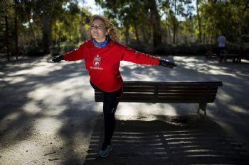 Chacia Chaouch, corredora de la vida