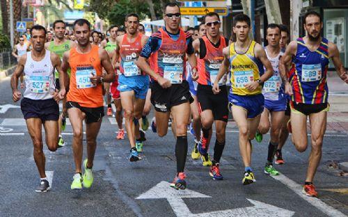 Cabeza de carrera de la carrera de Alicante del circuito Sanitas Marca Running series 2013