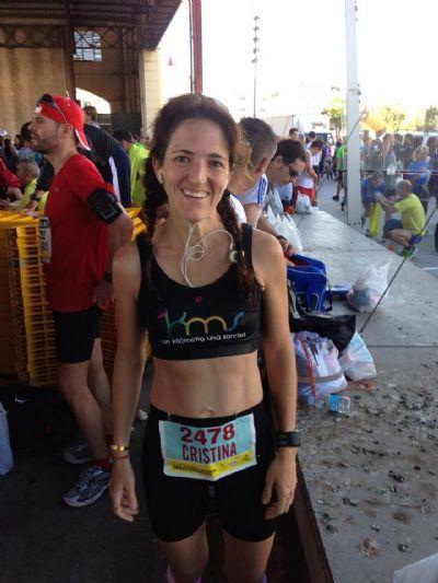 Cristina Osorio fundó la asociación 1km1sonrisa