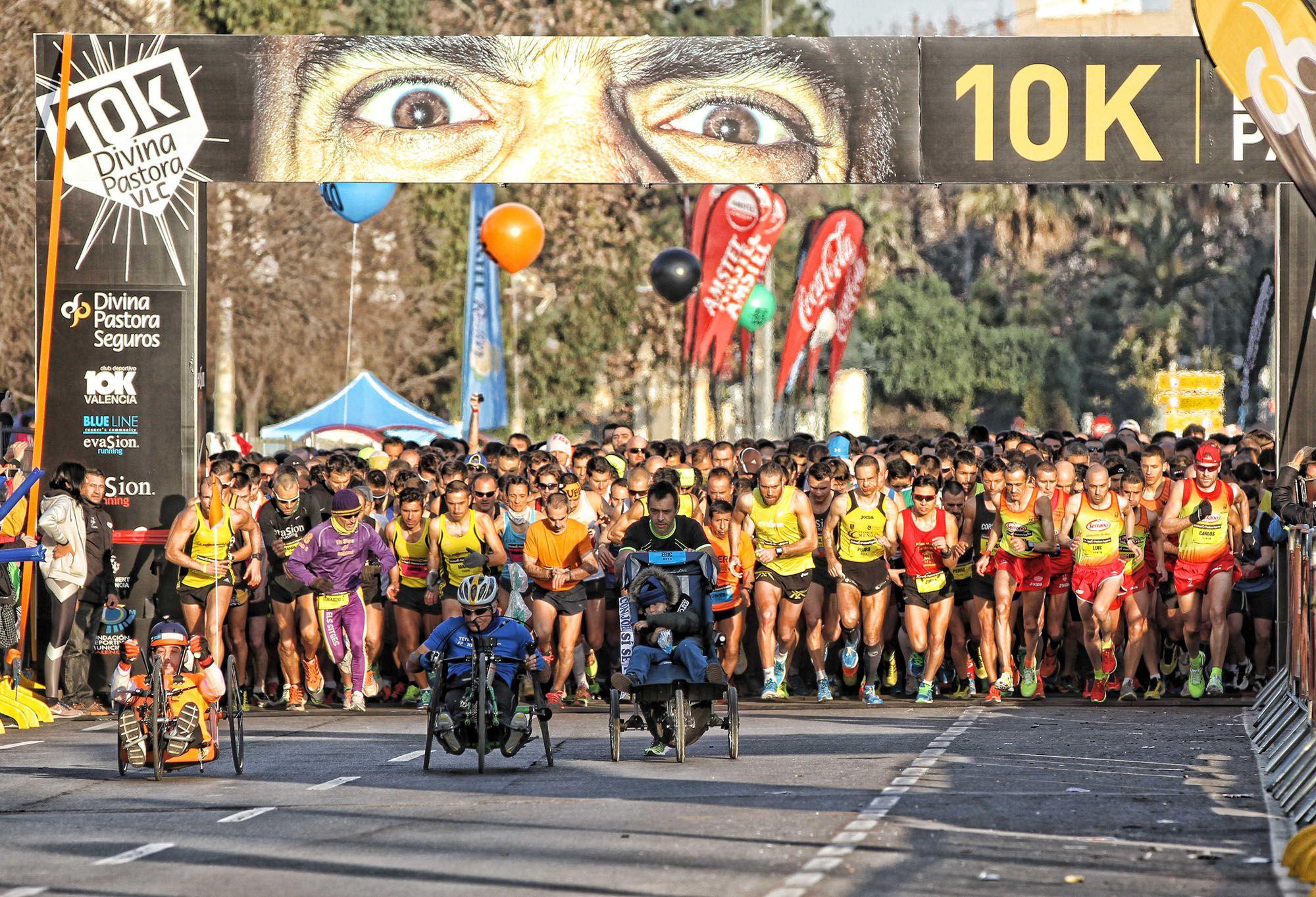 Te invitamos a participar en la 10K DIVINA PASTORA VALENCIA - ENERO 2015