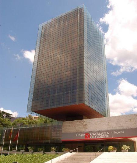 El edificio flotante del Paseo de la Castellana