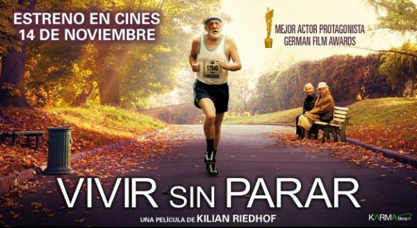 Cartel de la película Vivir sin Parar