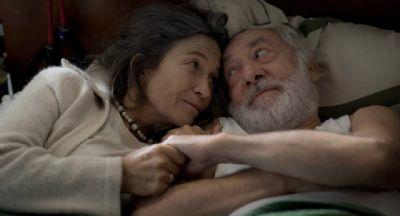 Paul Averhoff, protagonista de la película, con su esposa