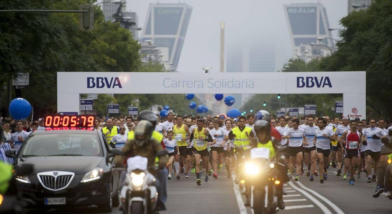 Te invitamos a participar en la Carreras Solidaria BBVA de Madrid