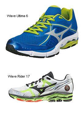 Mizuno Wave Ultima 6 y Mizuno Wave Rider 17
