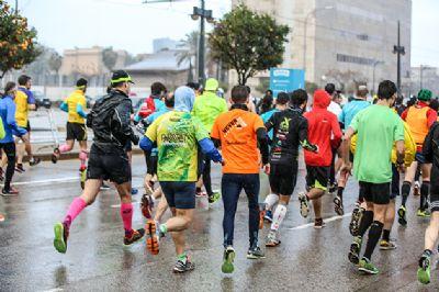 En muchas ocasiones no tenemos más remedio que correr mientras llueve