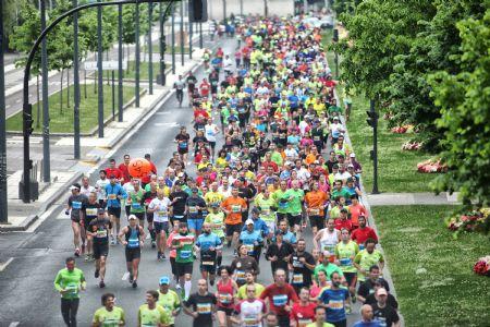 Imagen de la Maratón de Vitoria en la edición de 2014