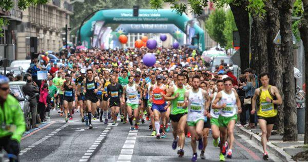 Salida de la Maratón de Vitoria 2014