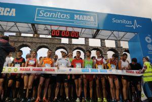 Salida de la Sanitas Marca Running Series de 2014