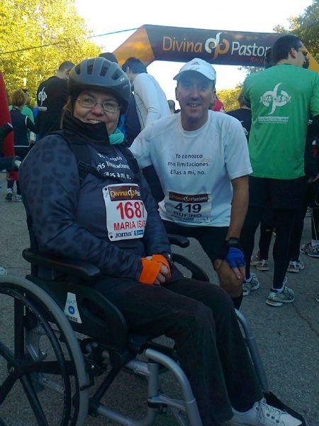 Rufino y Maribel disfrutan entrenando y participando juntos en carreras