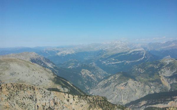 Lo mejor de correr en la montaña es poder admirar los paisajes