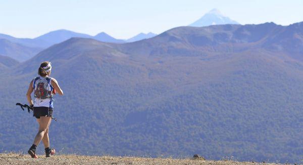 Una participante en la Patagonia Run 2015