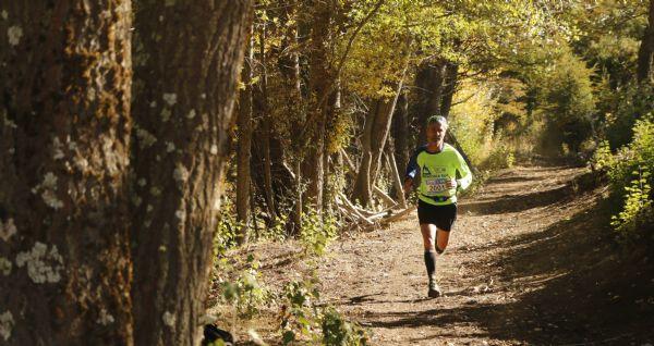 Marti Fiz fue uno de los participantes en la carrera de 21 kilómetros en Patagonia Run 2015