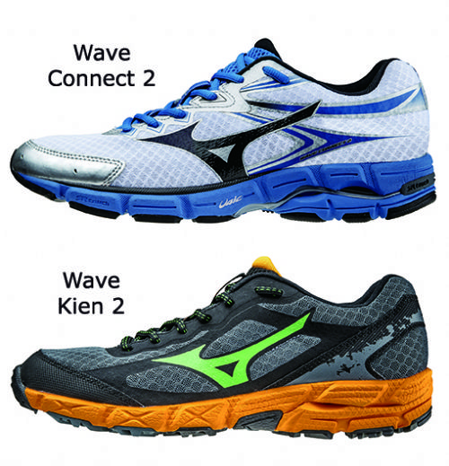 Los modelos de Mizuno Wave Connect 2 y Wave Kien