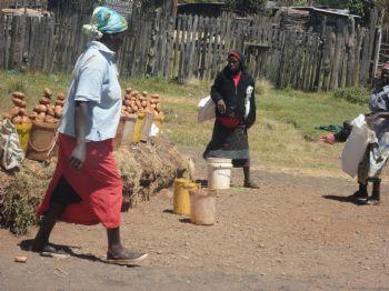Mujeres de Ziwa, en Kenia