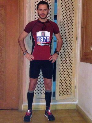 Álvaro Izquierdo, corredor popular