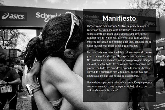 Mejeresquecorren.com movimiento social de running femenino liderado por la periodista Cristina Mitre