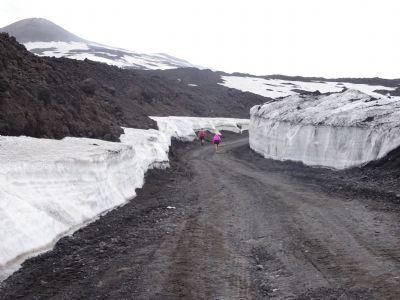La Supermaratona del Etna asciende 3.000 metros, saliendo a nivel del mar