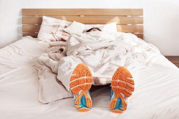 El descanso es parte fundamental del entrenamiento de un corredor